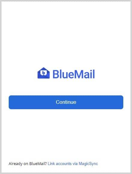 Blue mail 2