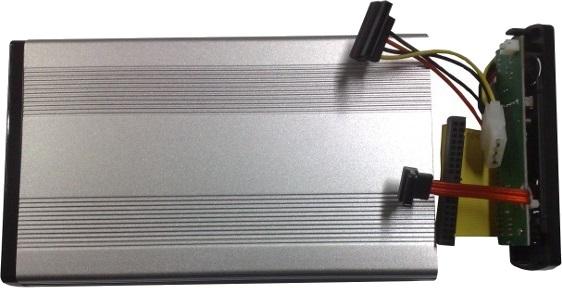 Box esterno per hard disk e cavetteria