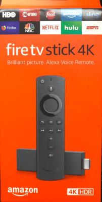 Amazon Firestick tv 4K confezione