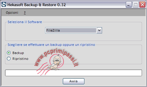 HekaSoft Backup&Restore Start