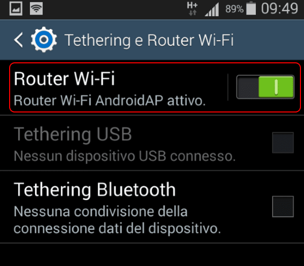 Hotspot Android 4.4.X step 2