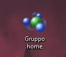 Icona gruppo home sul desktop