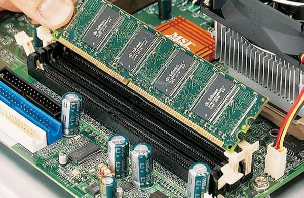 Inserimento nuova RAM