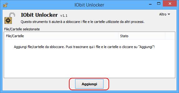 Iobit unlocker portable esecuzione
