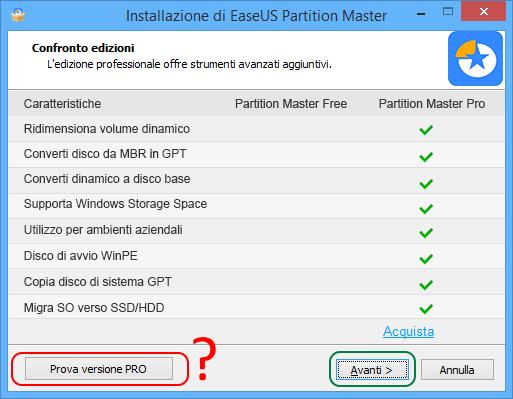 Partition master free setup 1