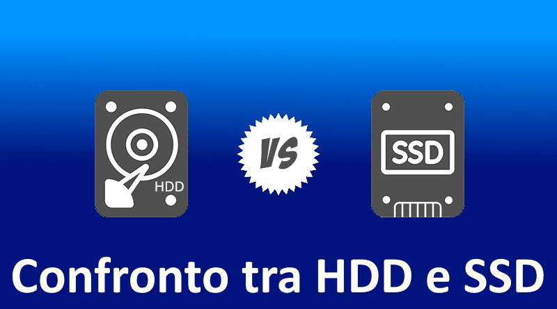 Confronto tra HDD e SSD