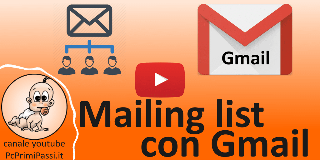 Come creare una mailing list con Gmail