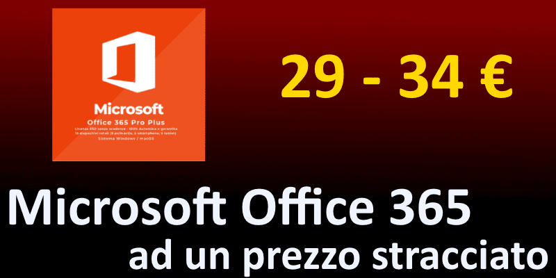 Come ottenere office 365 con licenza a vita a meno di 30 euro
