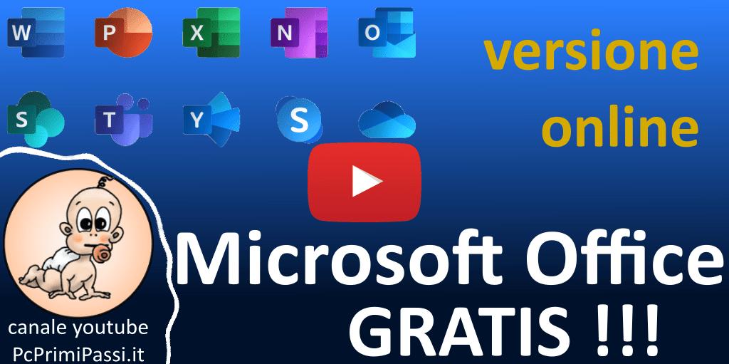 Come usare Microsoft Office gratuitamente