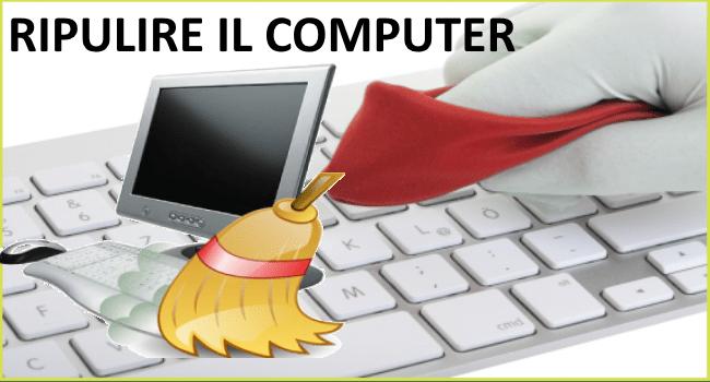 ripulire il computer dallo sporco
