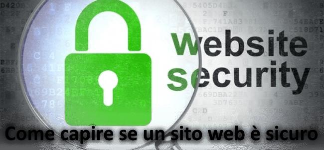 Come capire se un sito di commercio elettronico � sicuro