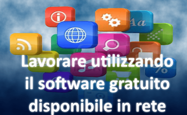 Utilizzare software gratuito