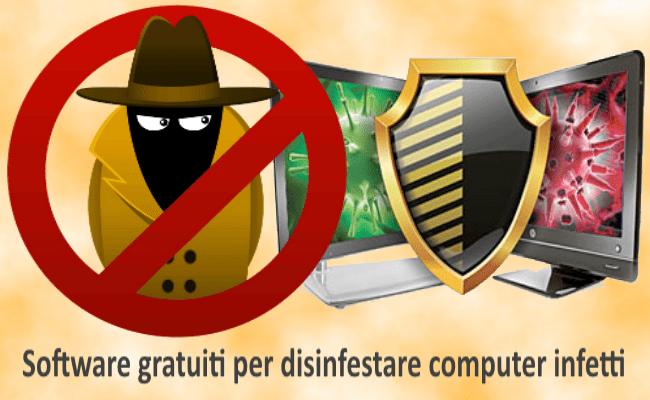 Come ripulire gratuitamente un computer infetto