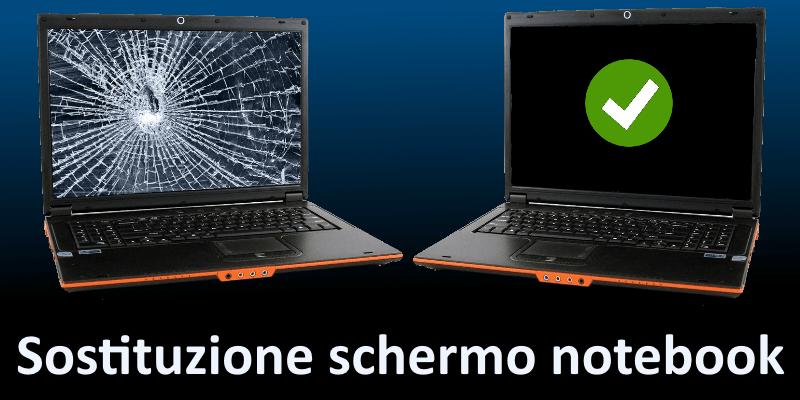 Come sostituire lo schermo rotto di un notebook