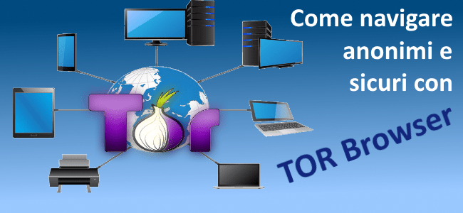 TOR Browser navigazione anonima